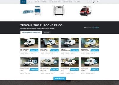 web agency pavia usatofurgonefrigo